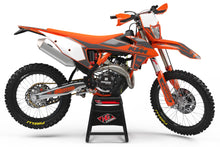 "Load image into Gallery viewer, KTM GRAPHICS KIT ""RETRO - ORANGRE/GREY"""