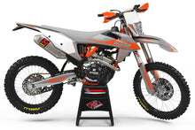 "Load image into Gallery viewer, KTM GRAPHICS KIT ""RETRO LIGHT GREY"""