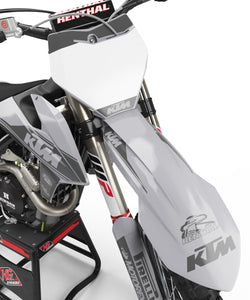 "KTM GRAPHICS KIT ""RETRO GREY"""