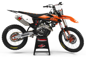 "KTM GRAPHICS KIT ""RETRO"""