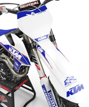 "Load image into Gallery viewer, KTM GRAPHICS KIT ""RETRO - WHITE"""