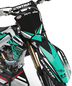 "KAWASAKI GRAPHICS KIT ""GALDER"""