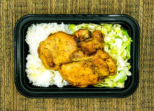 Curry Chicken With Cabbage and Jasmine Rice