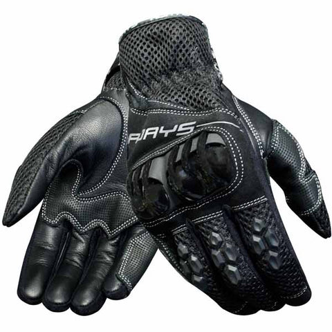 Rjays Mach 6 summer leather gloves are available for men and women and is an awesome fitting glove with a completely new design to help you keep cool on those hot and humid days.