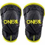 ON-0251312/ON-0251313 - Oneal peewee elbow guard in black and hi viz - comfortable so they'll wear it, protective for your peace of mind