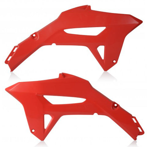 Radiator scoops CRF450R 2021 Red 24304.110
