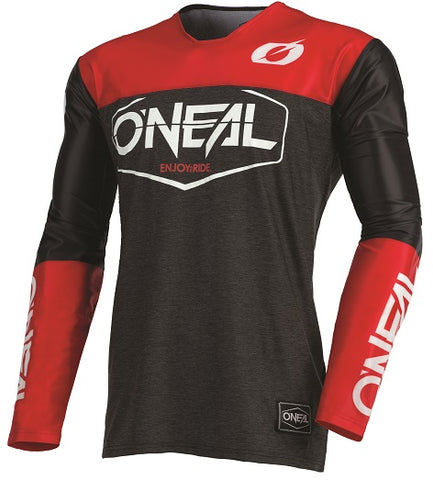 21 Mayhem Hexx Jersey - Black Red (2)