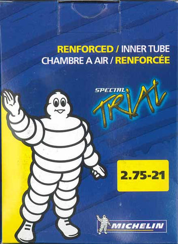 Michelin front trials tube