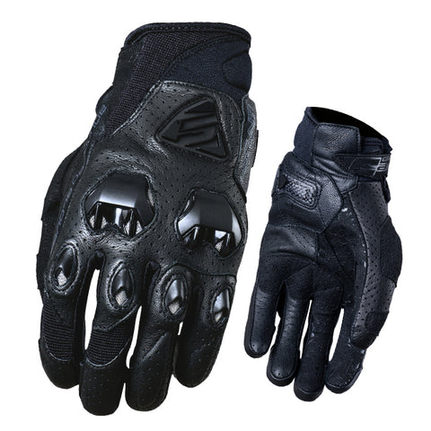 FIVE Stunt Evo Leather Air Black