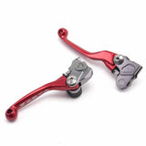 "SAMPLE PICTURE - Red Zeta Pivot Lever Sets are available for a range of bikes (last digit of the part number is ""3"" for the red colourway)"