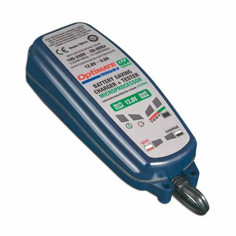 Optimate Lithium LFP 4s .8A battery charger - TM-470