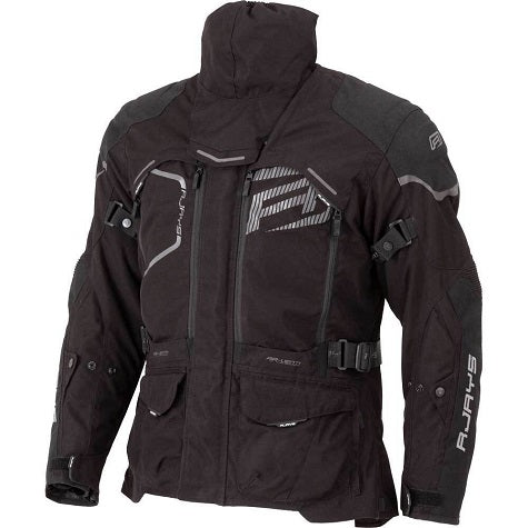 RJAYS Adventure Jacket Front - Black