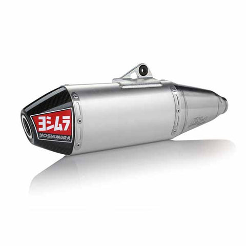 YM-219200D320 Yoshimura RS4 full system for 2008-2017 Suzuki RMZ450 and 2010-2011 RMX450Z - stainless steel and aluminium with carbon fibre end cap