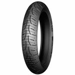 The Michelin Pilot Road 4 tyres feature 2CT, dual compound technology with 100% silica compounds for the optimum balance between wet grip and longevity