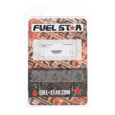 FUEL STAR Hose and Clamp Kit FS00017