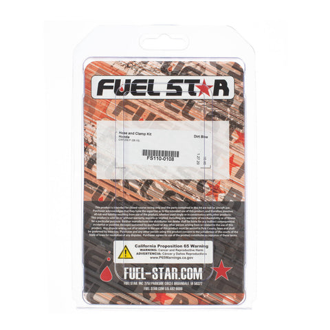 FUEL STAR Hose and Clamp Kit FS110-0108