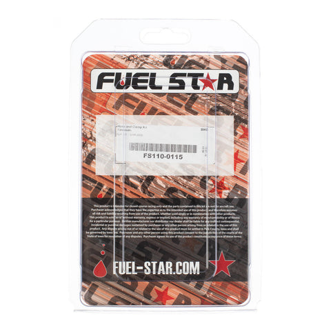 FUEL STAR Hose and Clamp Kit FS110-0115