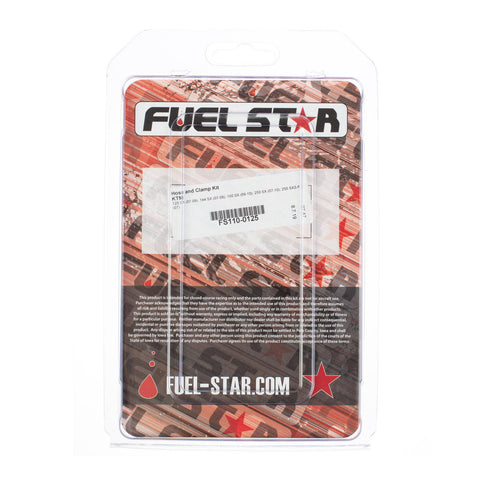 FUEL STAR Hose and Clamp Kit FS110-0125