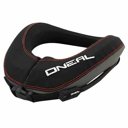 O'Neal NX2 Race Collar for adults (152cm, 48kg+) and youth (up to 152cm, less than 48kg) - protects against axial compression, hyperflexion, hyperextension and lateral hyperflexion