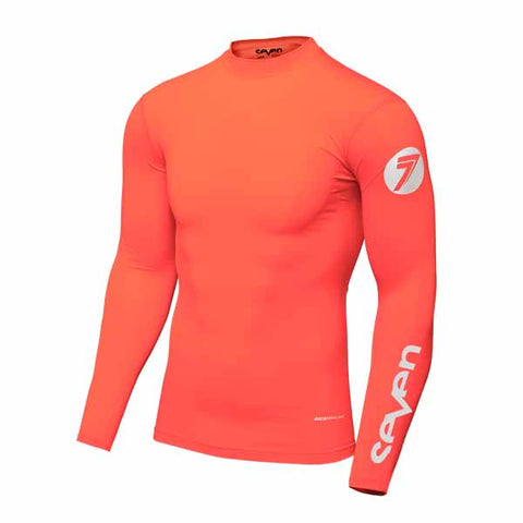 Seven's Zero Compression Jersey in Coral colourway