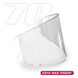 Pinlock 70 Clear Insert for HJ26 Visor - RPHA-11
