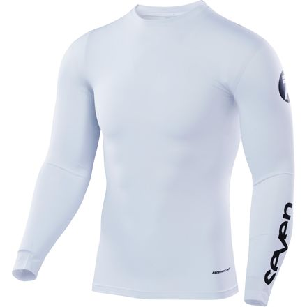 Seven's Zero Staple Compression Jersey in White colourway