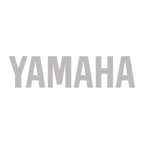 700.3005 Yamaha Logo Tank Sticker 120mm Silver