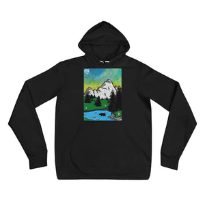 "Open image in slideshow, ""Blissful Campscape"" Hoodie"