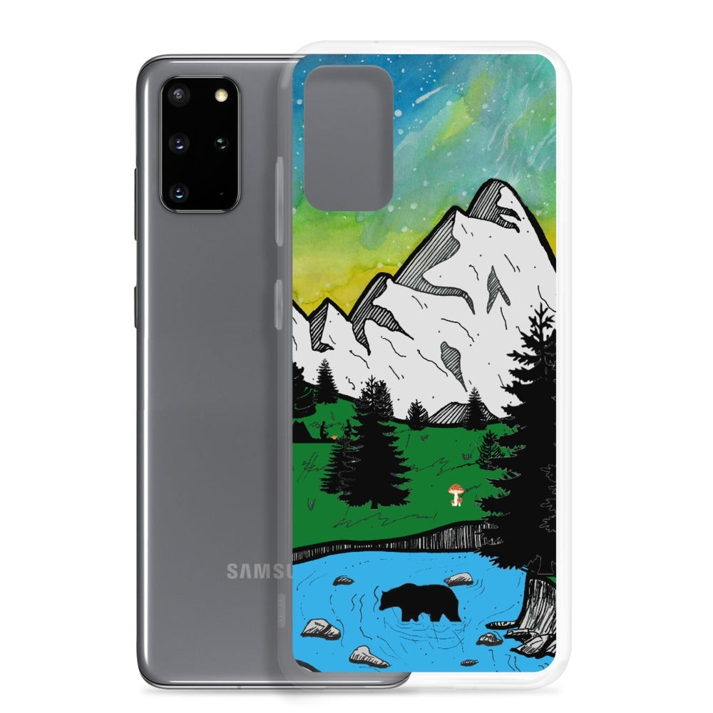 """Blissful Campspace"" Samsung Phone Case"