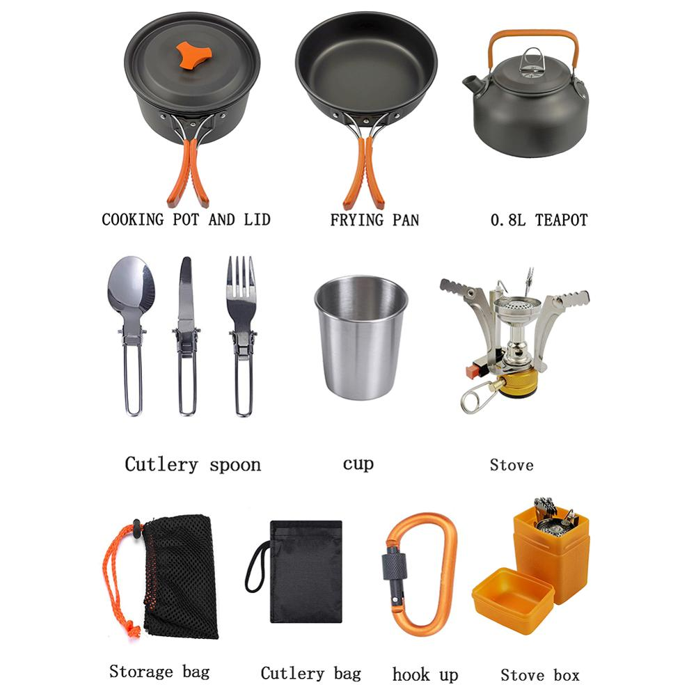 Camping Cookware Sets