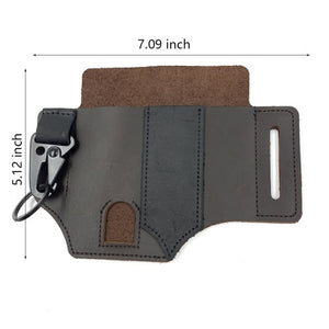 Open image in slideshow, Leather Pocket Organizer