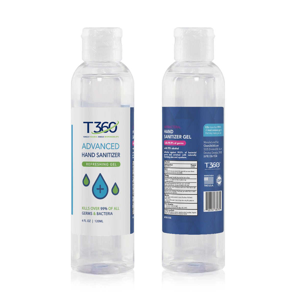 4 oz Hand Sanitizer - Think360 Inc
