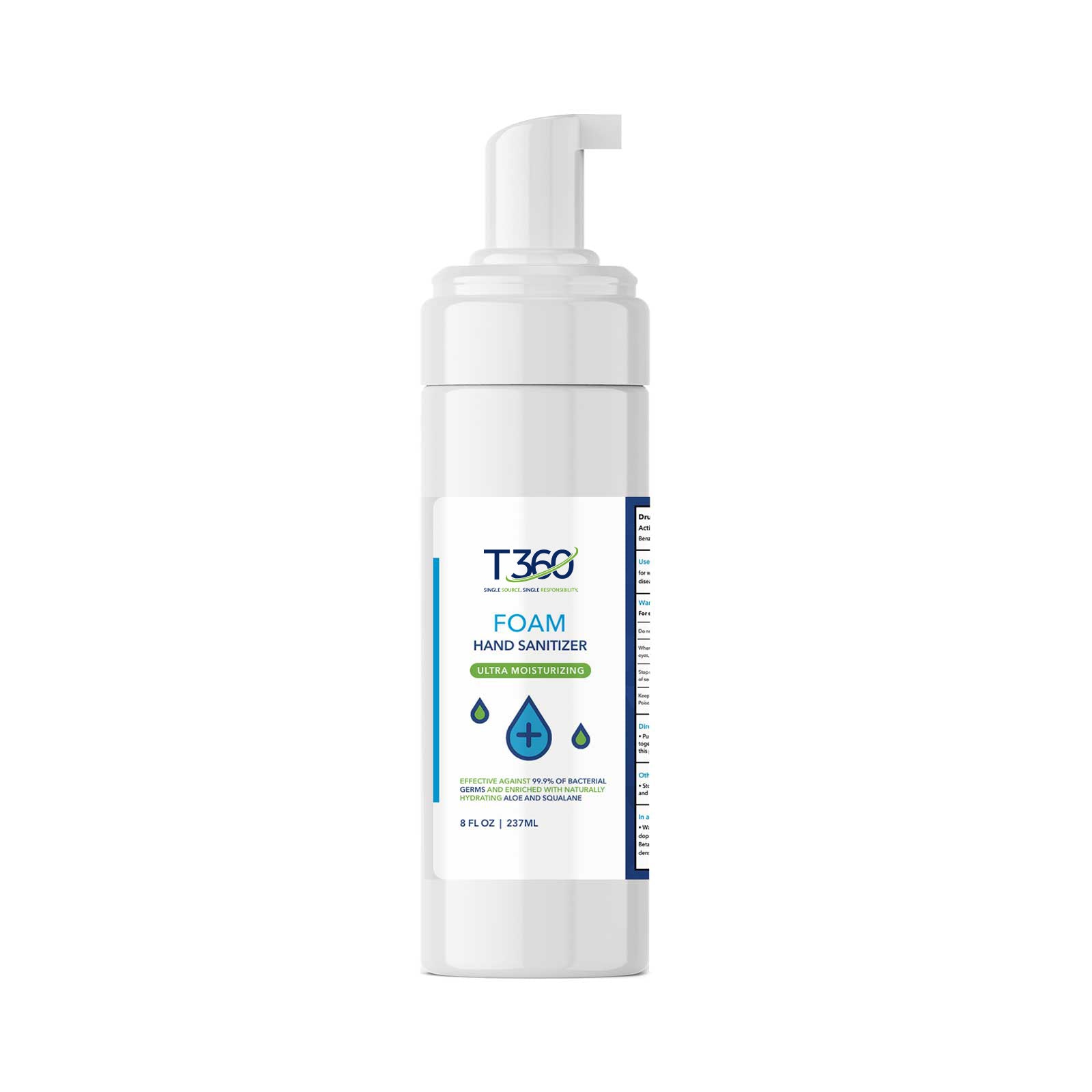 8 oz Foaming Hand Sanitizer - Think360 Inc