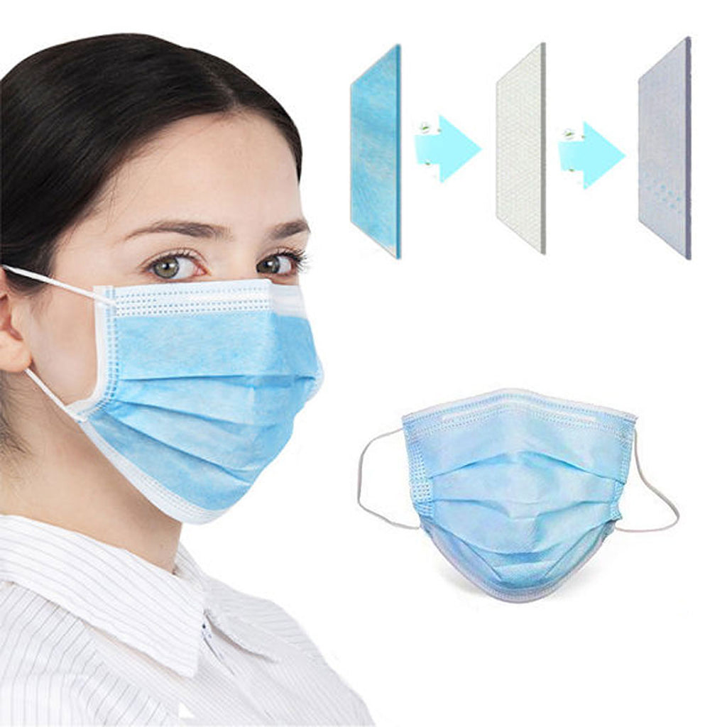 Disposable Face Masks (20 Pack) filter view