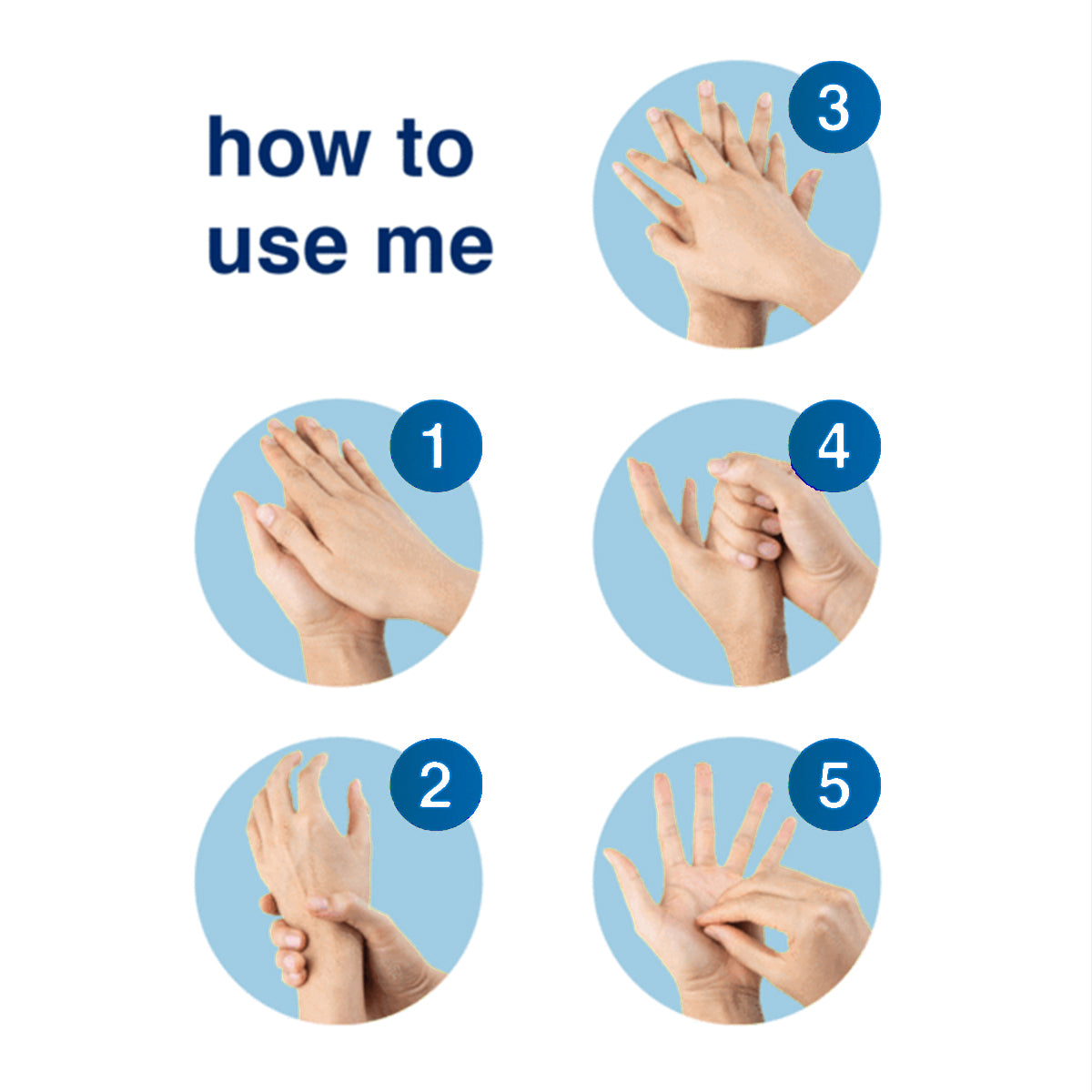 how to use 8oz hand sanitizer