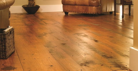 Hit or Miss Eastern White Pine Floors