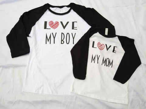 Mom and Son Matching Shirt Set - SouthernHearth Custom Tees & More