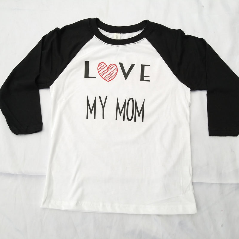 Mom and Son Matching Shirt Set