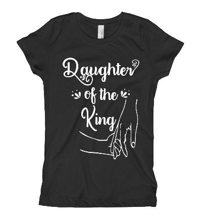 Daughter of the king cute Christian tee shirt/Women's christian tee shirt/ Bible tee shirt/ Religious tee shirt - SouthernHearth Custom Tees & More