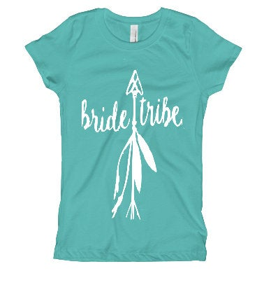 Bride Tribe  Bridal Party tee shirt/ Bridal Tee shirt/ Wedding shirts/ Tribal Bride tee