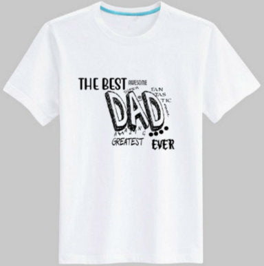 Best Dad tee shirt/ Cute Dad tee shirt/ Father's Day tee shirt