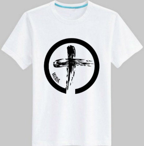 Believe Cross tee shirt/ Men's Religious tee shirt/ Cross christian shirt/ Unisex Christian Apparel/ Women's Christian tee shirt