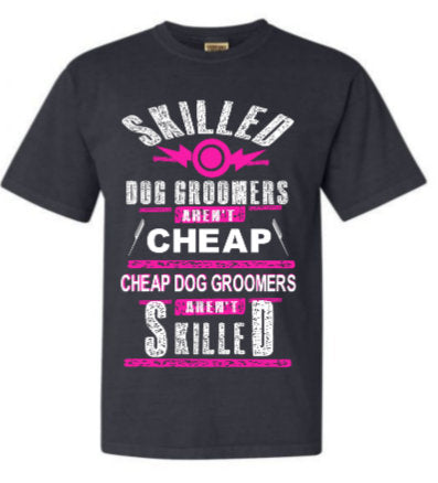 Dog Groomer tee shirt/ Funny shirt for Animal Groomer/ Dog lover gift