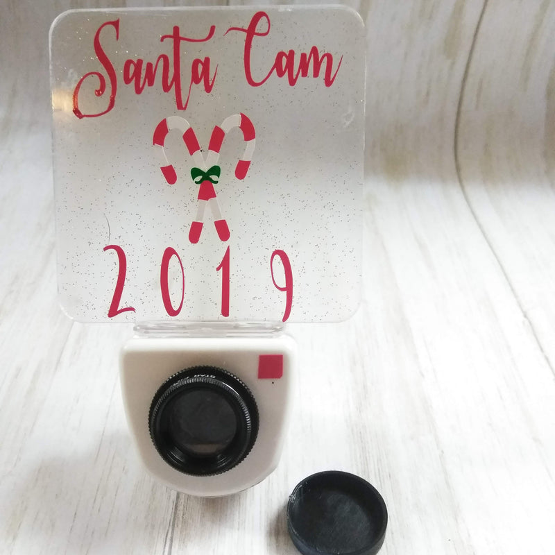 Santa Cam Night Light, Santa Cam Ornament, Christmas ornament