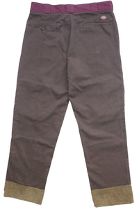 BROWN CARGO DICKIES 34""