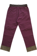 Load image into Gallery viewer, BURGUNDY CARGO DICKIES 34""