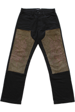 Load image into Gallery viewer, FLORA EMBROIDERED KNEE PATCH PANT 31""