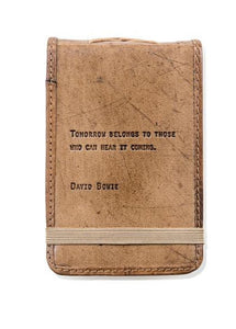 David Bowe Leather Journal Small