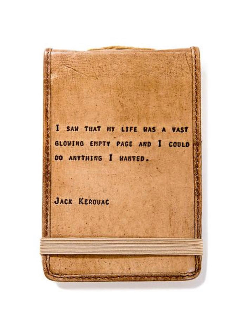 Jack Kerouc Leather Journal Small