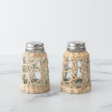 Load image into Gallery viewer, Seagrass Salt and Pepper Set